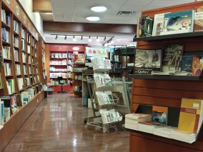 Aménagement commercial Librairie Paulines