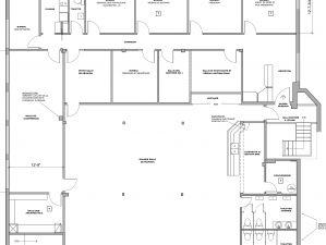 Plan de l'existant du Bureau, Montréal