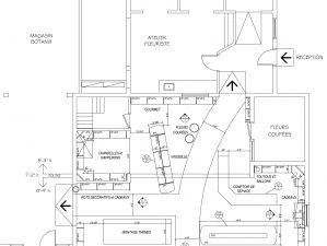 Plan d'aménagement de la Fleuristerie, Nicolet